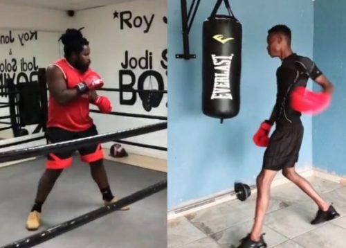 VIDEO: Big Zulu vs King Monada boxing prematch