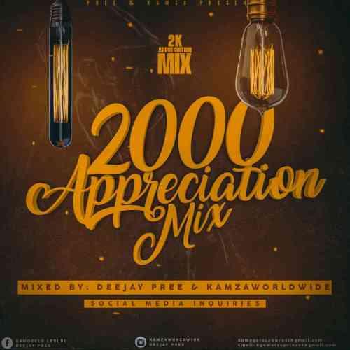 Deejay Pree & Kamzaworldwide - 2k Appreciation Mix