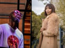 Here is what Enhle Mbali said to Black Coffee that got Mzansi surprised