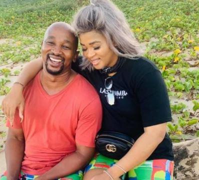 Lady DU; celebrates 1year commitment commemoration with sweetheart, Andile Mxakaza