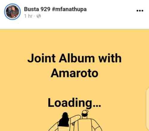 Busta 929 & Amaroto's Album Almost Ready