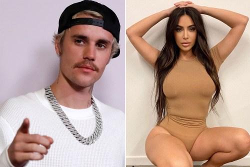 Justin Bieber Appears To Wear Kim Kardashian's Skims In Awkward Billboard Mishap