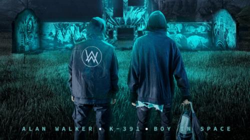 Alan Walker ft K-391 & Boy In Space - Paradise