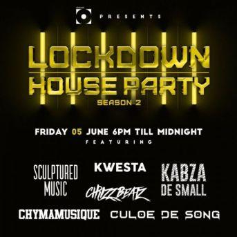 Kabza De Small - Lockdown House Party Season 2 Premiere Line UP