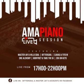 Sjavas Da Deejay & Tito M - Amapiano Live Session