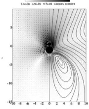 Optimum inertial self-propulsion design for snowman-like nanorobot