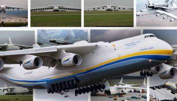 Antonov An-225 Mriya Pesawat Terbesar di Dunia