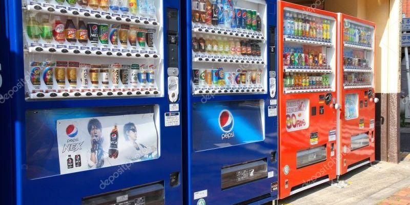 Vending machines in Japan