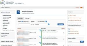 Domain-Bestellsystem