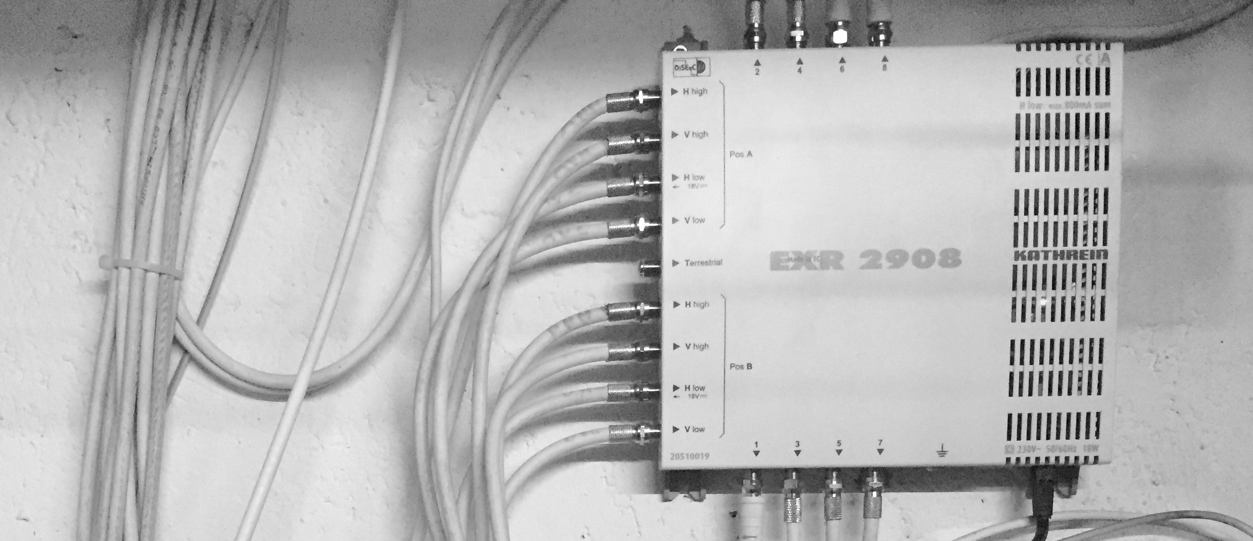HDMI mit FullHD über Cat5, 6, 7 Verkabelung - Specialization is for ...