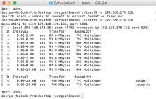 lapac2600 iperf client test 1