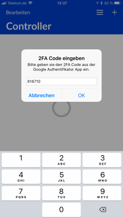 UniFi App Authenticator