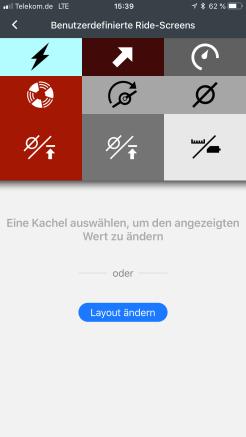 Benutzerdefinierter Screen