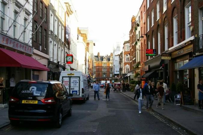 Berwick Street - London - August 2014