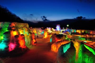 支笏湖氷濤祭り