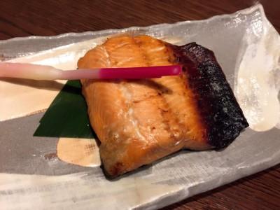 さくら鱒の西京焼き
