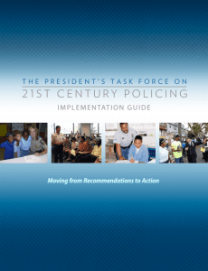 21st Century Policing Implementation Guide