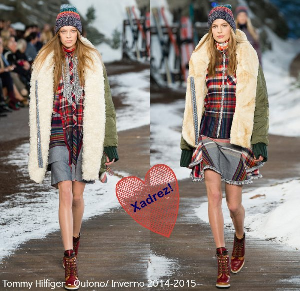 tommy-hilfiger-2014-2015-fall-autumn-winter-fashion-womens-runway-mercedes-benz-fashion-new-york-denim-jeans-fringes-knit-plaid-oversized-coat-western-05x