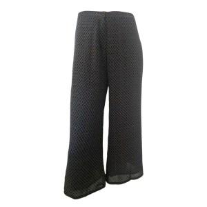 pantalón de estampado xeométrico