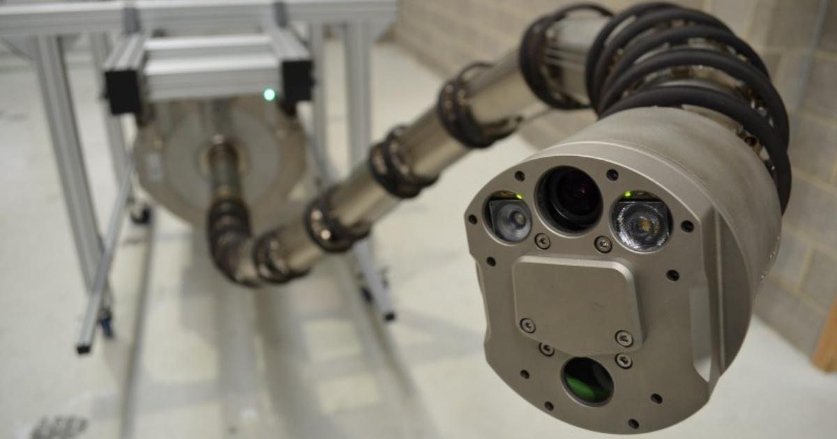 ネコ型よりもヘビ型が人を救う。OC Roboticsの巨大ヘビ型ロボットとは