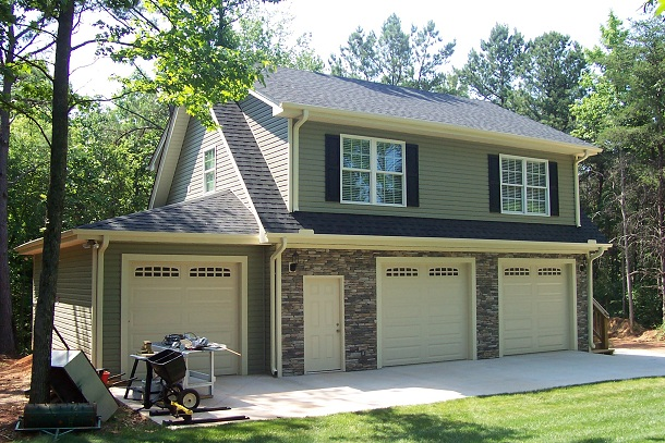 Amazing Garages With Apartments 13 3 Car Garage Carport