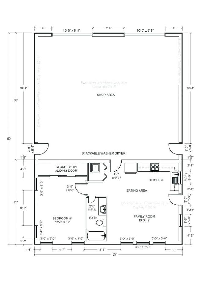 Pole Barn With Apartment Plans ~ Nice Apartement