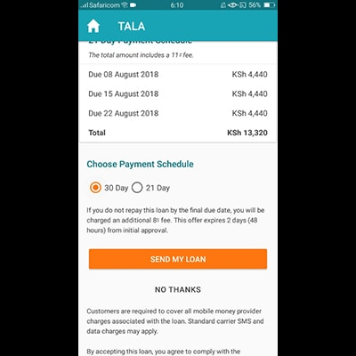 tala-app-kenya-choose-payment-schedule