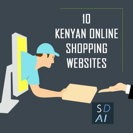 List of Top 10 online shopping websites in kenya