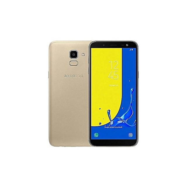 Samsung Galaxy J6 Jumia Kenya 3GB 32GB ROM 13MP 8MP Dual SIM 4G Gold front and back