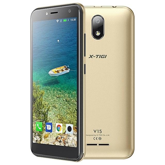 XTIGI V15 jumia Kenya 5 inch 16GB ROM 1GB RAM android 81 5MP dual SIM gold front back