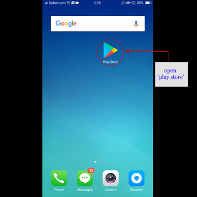 how to download timiza app timiza loan application open play store