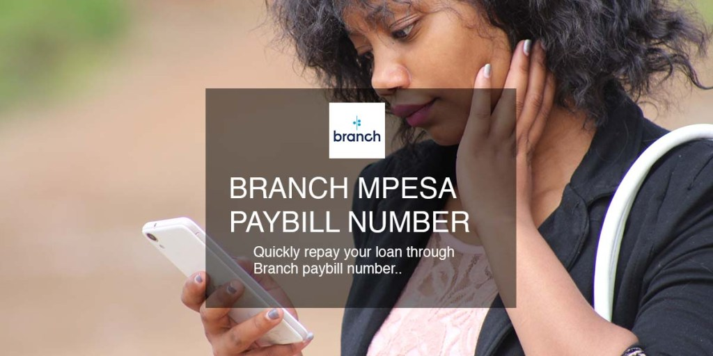 repay branch loan using branch paybill number