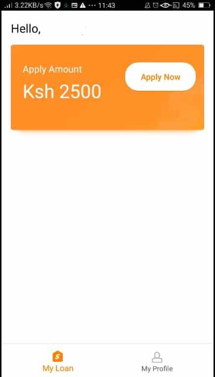 iPesa loan application apply now