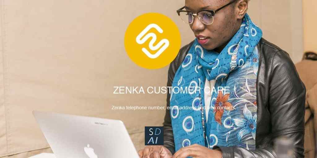 zenka app contact customer care email address SMS