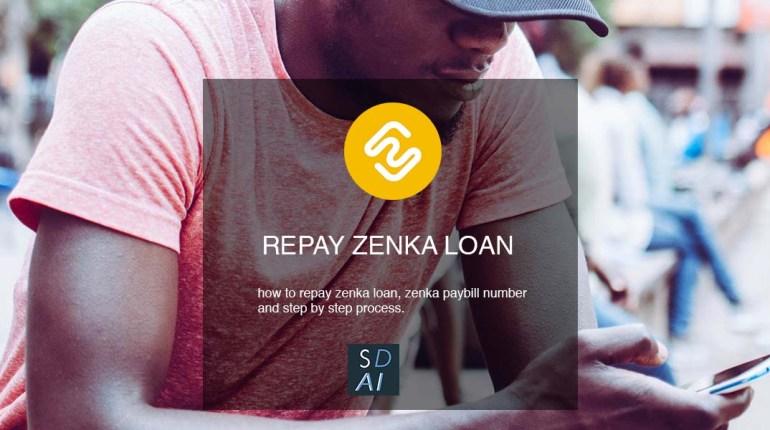 zenka app repay zenka loan
