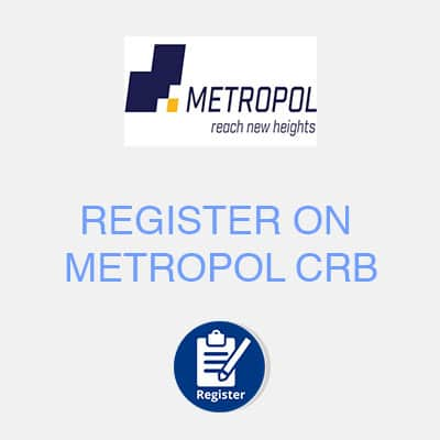 register on metropol crb