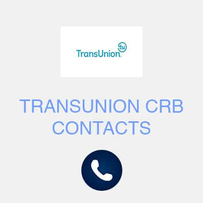 transunion crb contacts