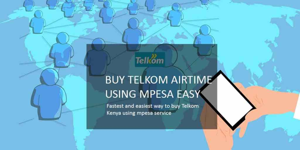 Buy telkom airtime using mpesa | top up telkom airtime using mpesa fast and easy
