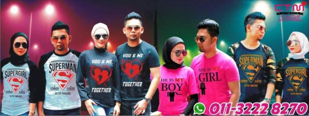Bongkar Penipuan Admin Page T-Shirt Couple Malaysia