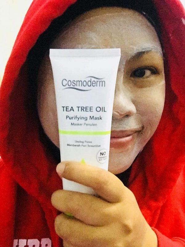 Nak Tahu Kenapa Aku Pilih TTO Purifying Mask Dari Cosmoderm ?