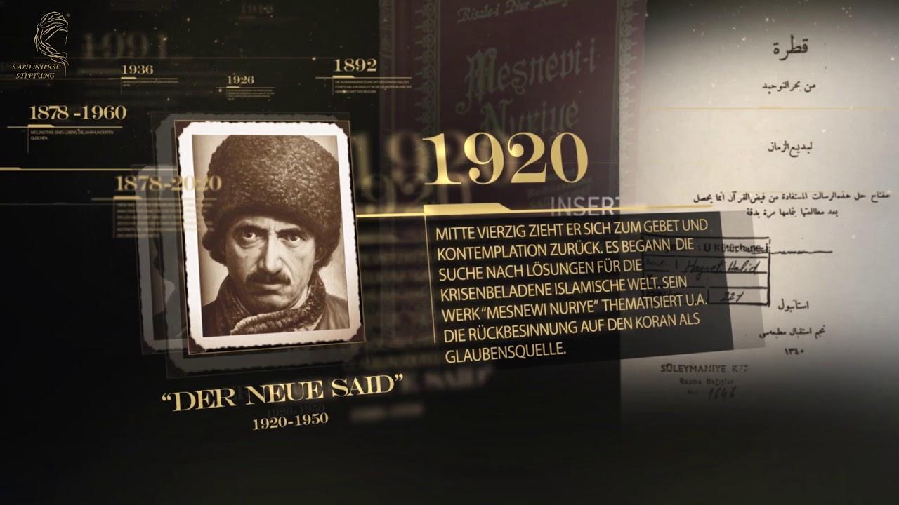 Biographie Timeline von Bediüzzaman Said Nursi