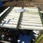農業施設:第二雨水集水装置の新設