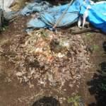 グリーン堆肥づくり:No.7G堆肥の仕込み(2)