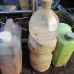 肥料づくり:米の研ぎ汁の発酵(8)