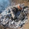 肥料づくり:草木灰づくり(3)