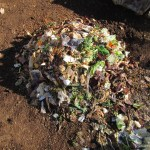 グリーン堆肥づくり:No.2G堆肥の仕込み(1)