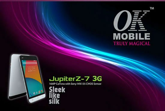 OK Mobile Jupiter Z7