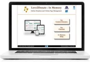 love-2-donate website