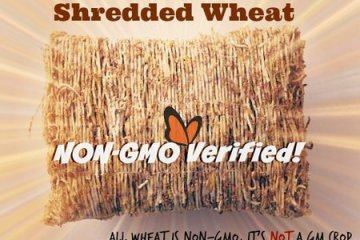 Consumer scam, shredded wheats and GMO