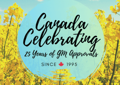 25th Anniversary of the First GM Crop Approval in Canada